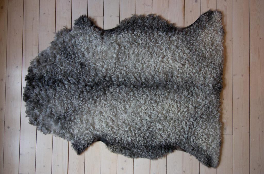 Exempel på lammskinn