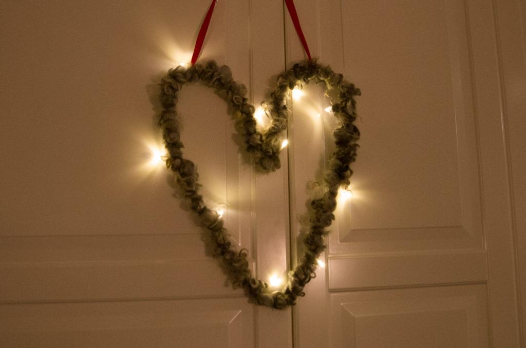 En lysande symbol för kärlek!